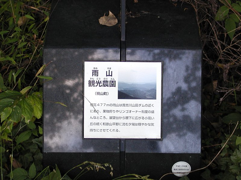 プレート−雨山