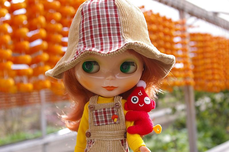 ブライスと串柿